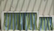 アウトドアキッチンカーテンにサンブレラファニチャーを採用
